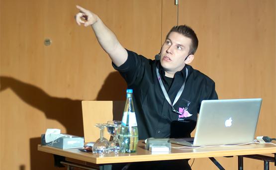 Vortrag von Tim Gouder - InDesign-Blog.de auf der DPK12