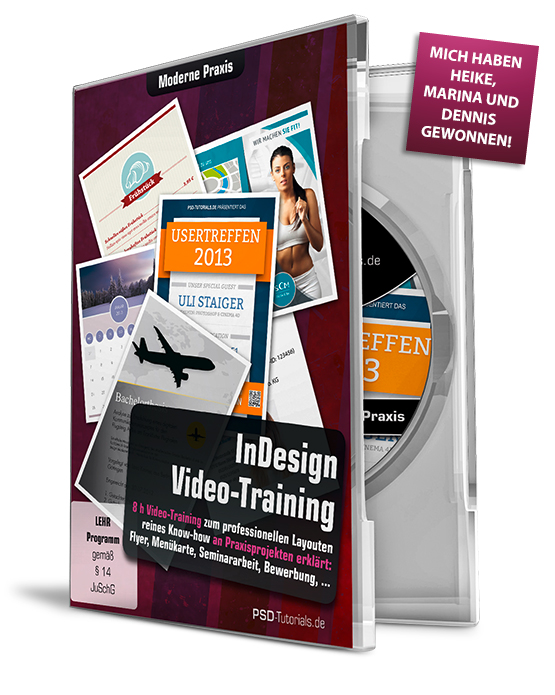 "Foto – Video-Trainings-DVD "" InDesign Moderne Praxis"""