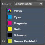 Objekte/Text mit einer bestimmten Farbe in InDesign finden