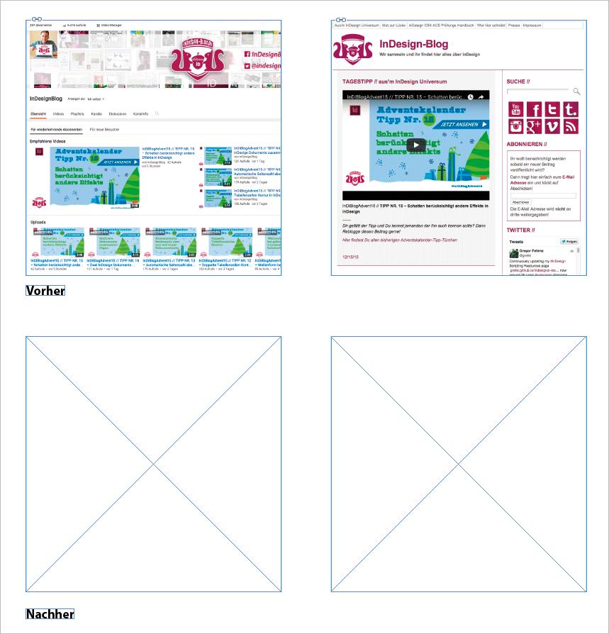 Screenshot – Bilder ohne Bild-Rahmen löschen