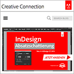 Der InDesign-Blog auf dem Adobe Creative Connection Blog