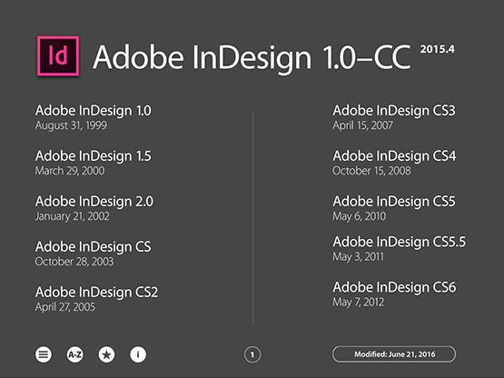 Screenshot – Adobe InDesign New Feature Guide – June 2016