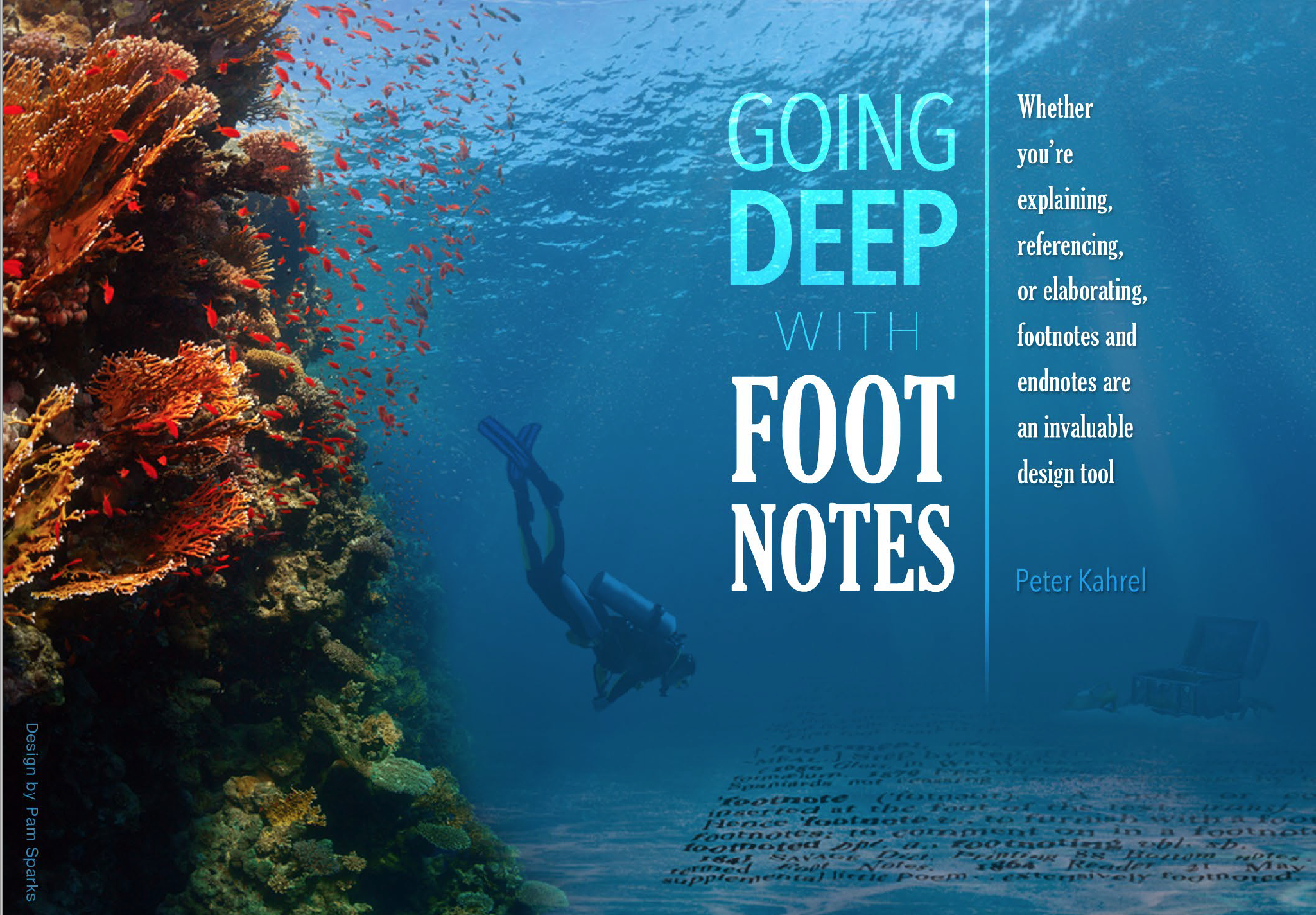 "Screenshot – Artikel ""Going Deep with Foot Notes"" - InDesign Magazine"
