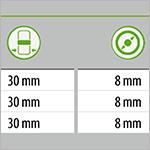 Transparente Tabellen-Konturen in InDesign