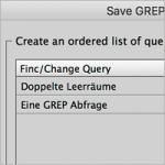 GREP-Ersetzungen automatisieren in InDesign