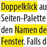 Marker Effekt erstellen in InDesign