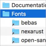 fonts_ordner