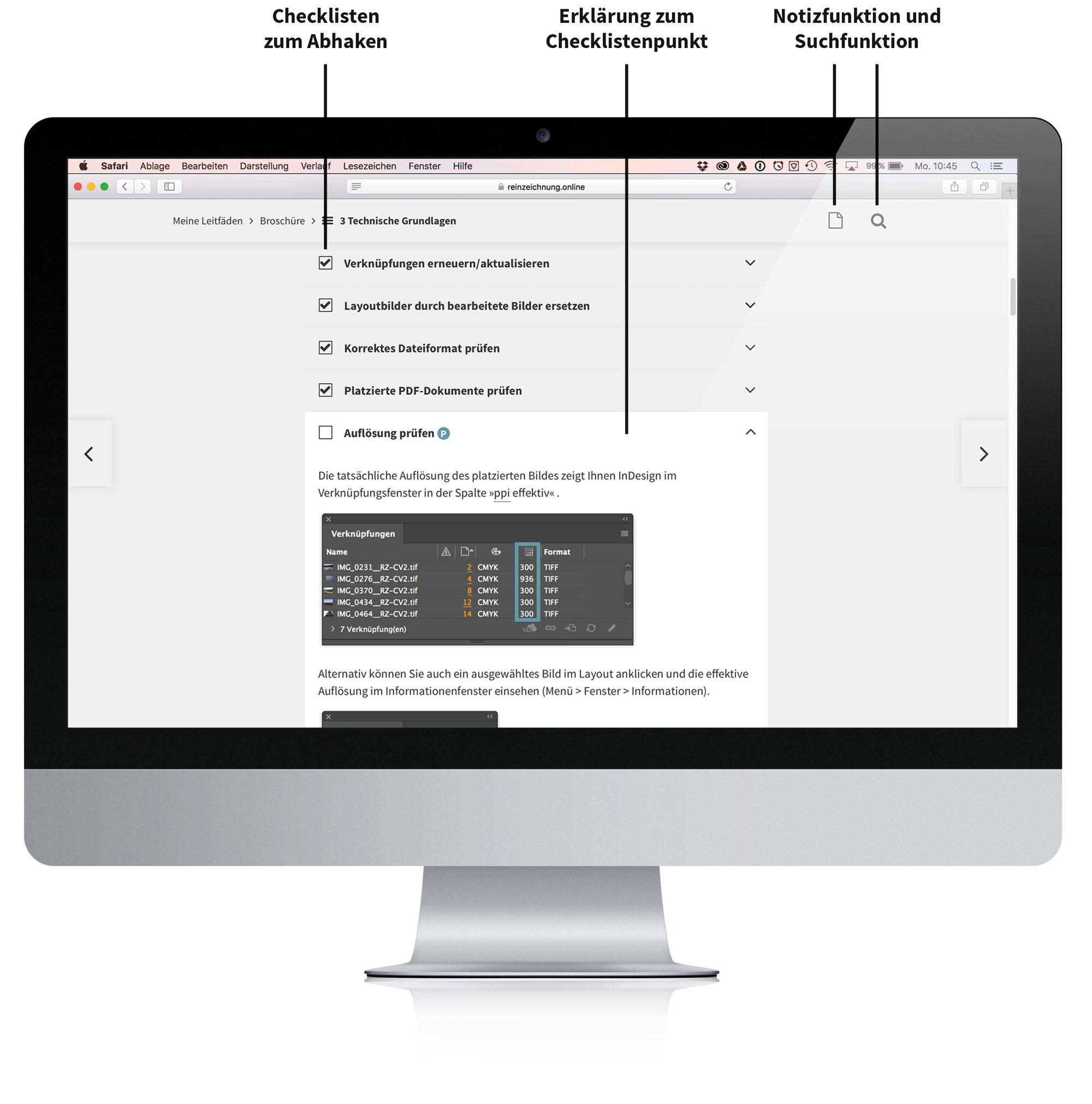 Screenshot – Reinzeichnung-online-funktionen