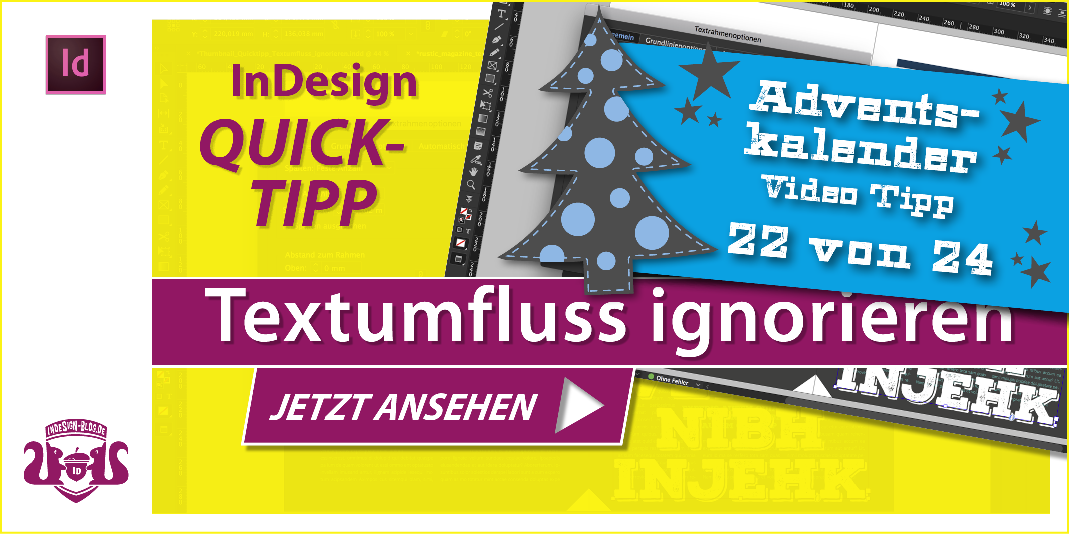 Thumbnail Quicktipp Textumfluss ignorieren