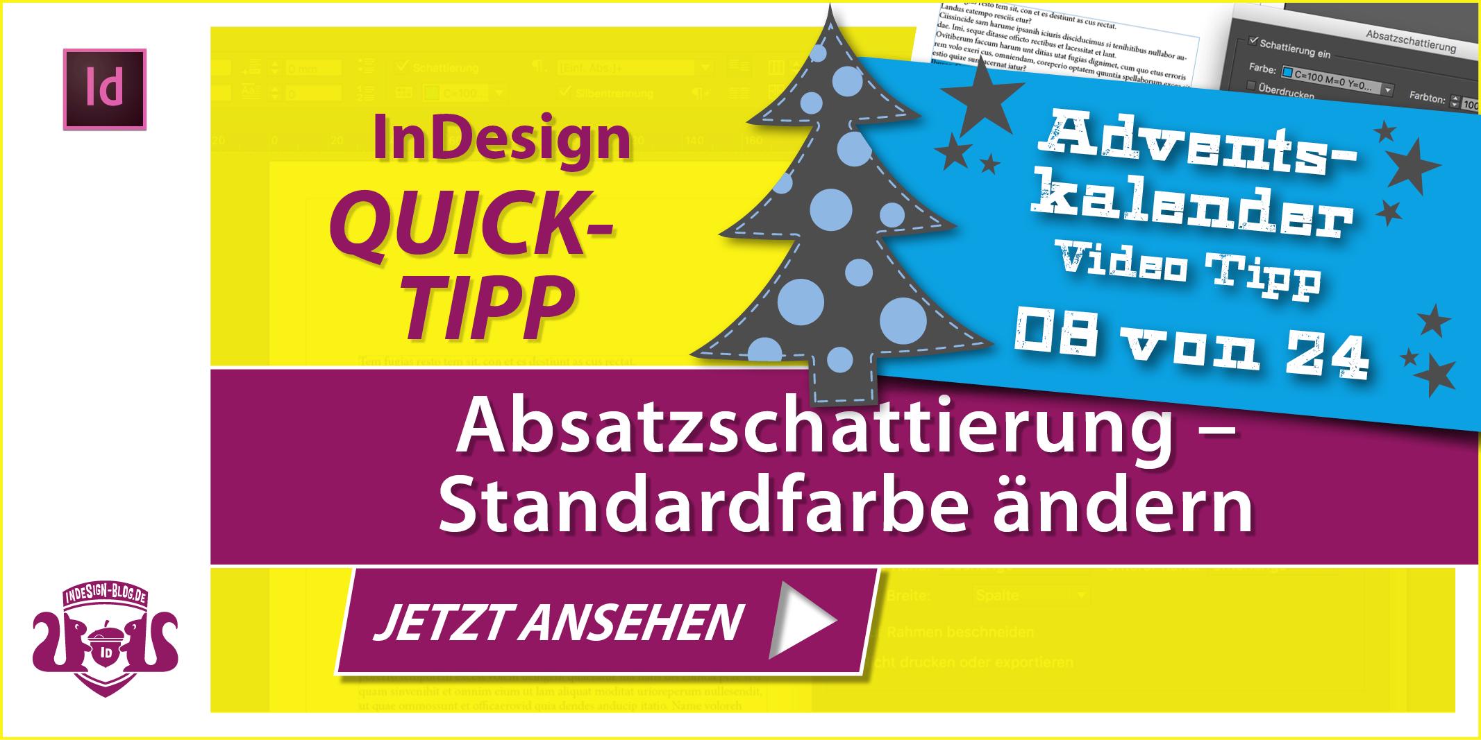 Tumbnail Quicktipp Absatzschattierung Standardfarbe aendern
