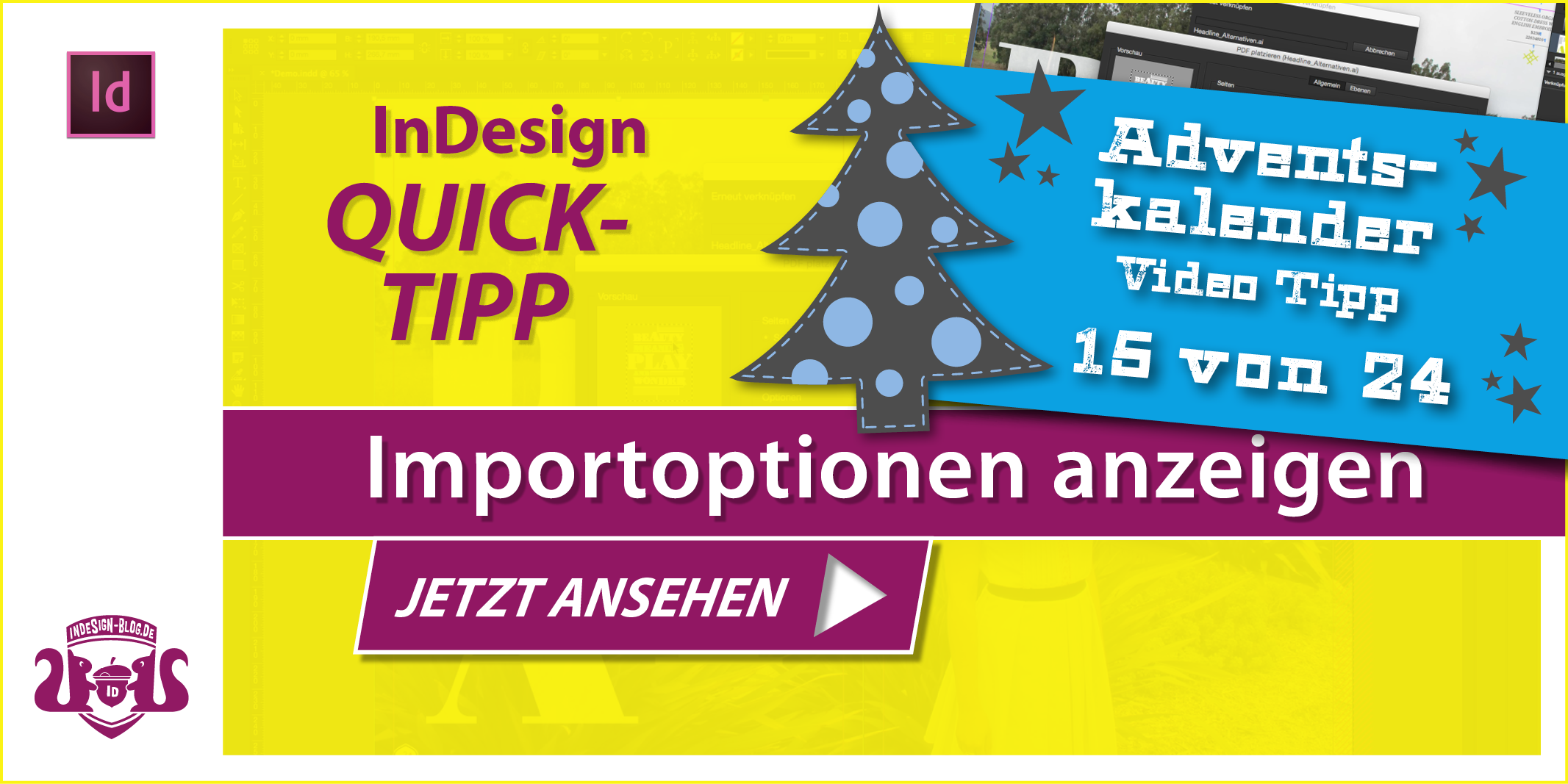 Tumbnail Quicktipp Importoptionen